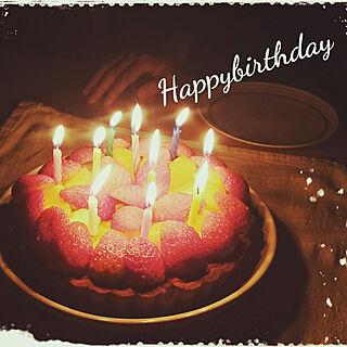 机/いつもいいね!ありがとうございます♪/成長/誕生日/ケーキ...などのインテリア実例 - 2017-12-13 19:59:17
