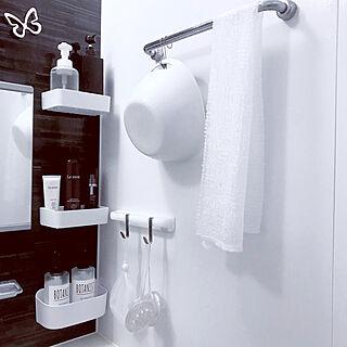 バス/トイレ/清潔感/白のチカラ/お風呂グッズ/お風呂/お風呂収納...などのインテリア実例 - 2018-03-05 23:11:48