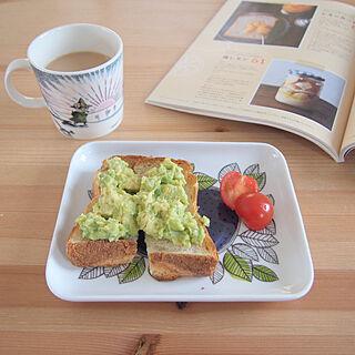 女性家族暮らし、朝食に関するeri_homeさんの実例写真