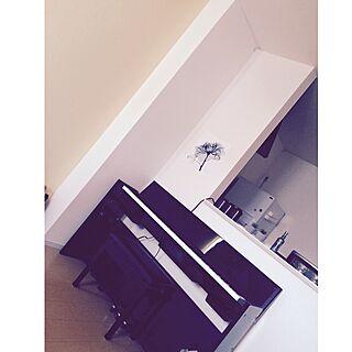 リビング/ピアノ/ピアノがある部屋/一人暮らし/IKEA...などのインテリア実例 - 2016-02-14 15:35:29