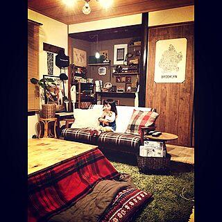 部屋全体/男前/和室を改造/床の間/hal36さん...などのインテリア実例 - 2014-12-17 20:03:07