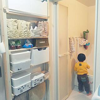 女性34歳の家族暮らし4LDK、ヒオリエタオルに関するMarikoさんの実例写真