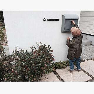 玄関/入り口/庭管理責任者/シルバー中毒/ボーボー/アイアン...などのインテリア実例 - 2018-11-05 12:35:36