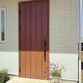 玄関ドア/ラベンダー/新昭和/玄関/入り口のインテリア実例 - 2020-05-08 16:58:43