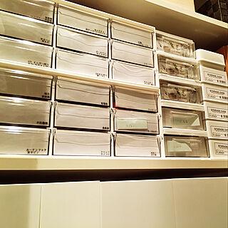 女性家族暮らし4LDK、収納に関するyukichi3さんの実例写真