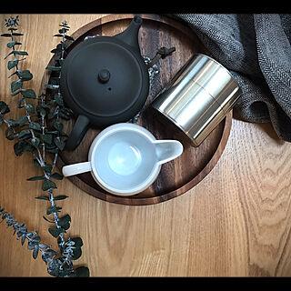 女性家族暮らし4LDK、開化堂 茶筒に関するyu3koさんの実例写真