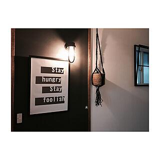 女性36歳の家族暮らし3LDK、吊るすに関するazicoさんの実例写真