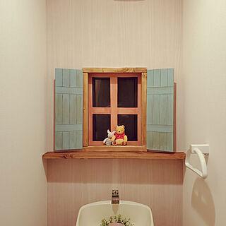 バス/トイレ/トイレ改造計画/セリア/DIY/くまのプーさん...などのインテリア実例 - 2020-01-25 20:26:00