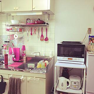 2K、調理台に関するmoamoaさんの実例写真