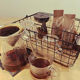 ダイソー/IKEYA/HARIO/南蛮屋/コーヒー好き...などのインテリア実例 - 2021-02-23 07:27:18