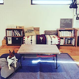 女性33歳の家族暮らし、こたつ天板DIYに関するMasumiさんの実例写真