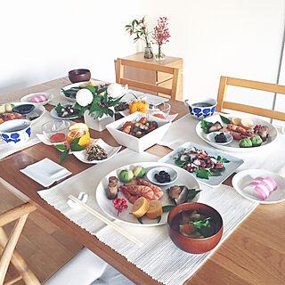 女性42歳の家族暮らし4LDK、おせち料理 盛り合わせに関するEmiさんの実例写真