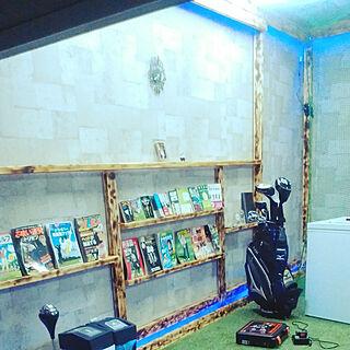 女性44歳の家族暮らし2LDK、夫の趣味部屋に関するnenekoさんの実例写真