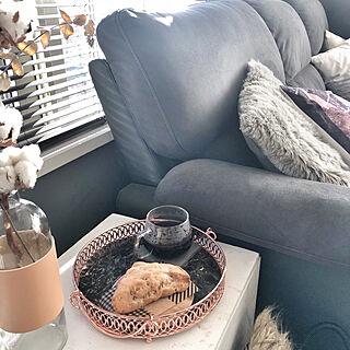 女性家族暮らし4LDK、ダイソーリメイクシートをリメイク★に関するMegumiさんの実例写真