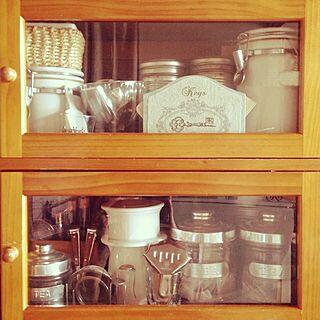 棚/ディスプレイ/整理収納部/収納/食器棚...などのインテリア実例 - 2014-06-04 19:28:31