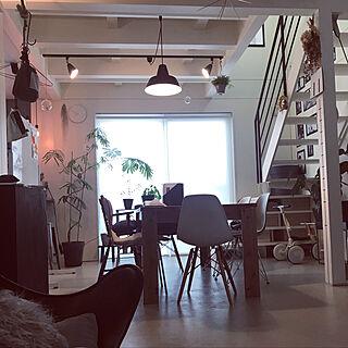 ワークショップランプ/The work shop lamp/シンプルモダン/北欧雑貨/塗り壁...などのインテリア実例 - 2019-07-12 21:40:29