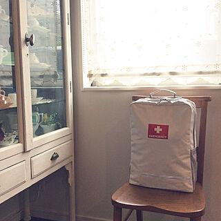 医療棚/椅子好き/避難用リュック/避難用品/emergency...などのインテリア実例 - 2020-07-08 07:10:51