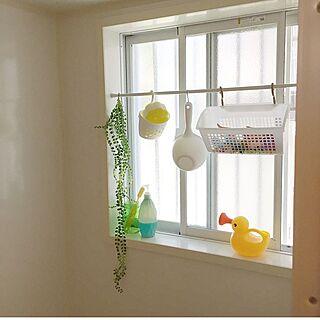女性30歳の家族暮らし2LDK、賃貸 バスルームに関するYunSamamaさんの実例写真