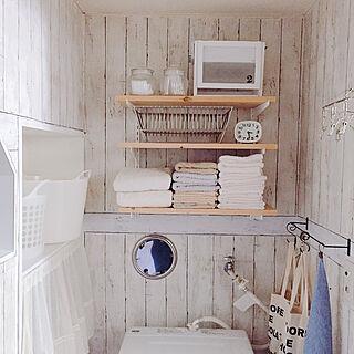 女性家族暮らし3DK、トイレ収納DIYに関するnatuさんの実例写真