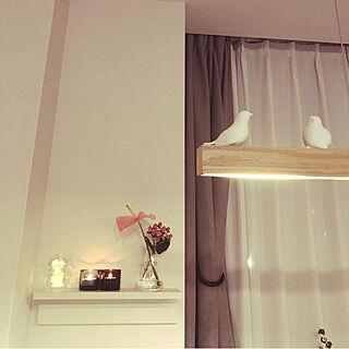 女性39歳の家族暮らし3LDK、無印良品 壁に付けられる家具に関するmugi1123さんの実例写真