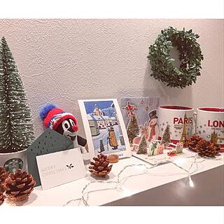玄関/入り口/Canada/Czech Republic/クリスマスカード/クリスマス2017...などのインテリア実例 - 2018-11-15 22:08:42