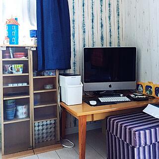 女性44歳の家族暮らし4LDK、iMacに関するsomebodyさんの実例写真