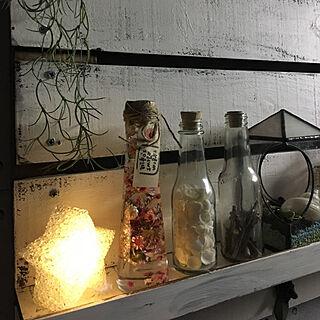 女性59歳の家族暮らし4LDK、RURULOVEちゃんのハーバリウムに関するdainaoreiさんの実例写真