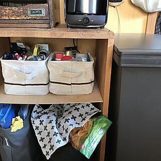 象印コーヒーメーカー/お菓子収納/キッチンのインテリア実例 - 2021-02-22 11:09:06