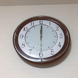 電磁波時計/リビング 時計/RoomClipアンケート/リビングのインテリア実例 - 2019-11-04 00:04:45
