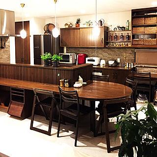 カウンターテーブルの人気の写真(RoomNo.2865612)