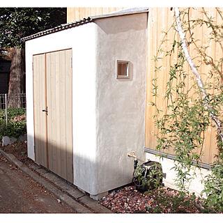 女性32歳の家族暮らし2LDK、外庭に関するmoco2_homeさんの実例写真