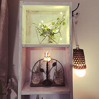 女性家族暮らし3LDK、アンティークの瓶に関するalchoさんの実例写真