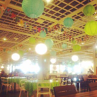 IKEAレストランのインテリア実例 - 2015-04-17 16:17:58
