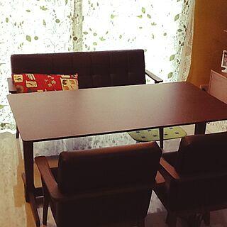部屋全体/おうちカフェ/のんびりと~/カフェ風目指す!/IKEA/照明...などのインテリア実例 - 2014-09-14 16:52:50
