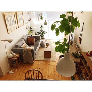 女性家族暮らし2LDK、Floorに関するHisayoさんの実例写真