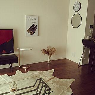 壁/天井/シンプルインテリア/一人暮らし/モノトーンのインテリア実例 - 2020-11-21 11:59:34