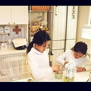 女性家族暮らし、晴れに関するkaoriさんの実例写真