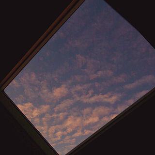 女性家族暮らし、天窓に関するakaneさんの実例写真