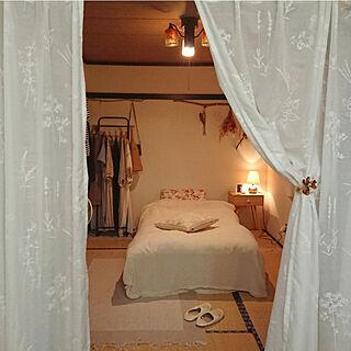 ベッド周り/寝室/ひとり暮らし/一人暮らし/賃貸...などのインテリア実例 - 2020-07-18 21:08:16