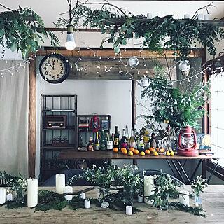 DIY/ドライフラワー/観葉植物/カフェ風/リビングのインテリア実例 - 2020-02-22 16:09:12