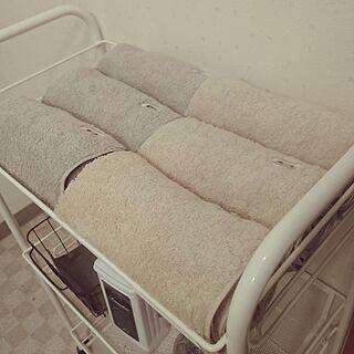 男性39歳の一人暮らし1LDK、house towelに関するShuheiさんの実例写真