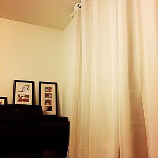 リビング/IKEA/ハトメのカーテン/ハトメレース/北欧...などのインテリア実例 - 2016-12-21 12:48:59