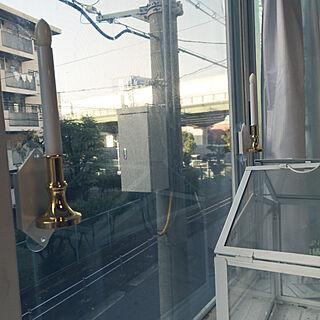 部屋全体/窓/窓辺/ソーラーライト/ライトアップ...などのインテリア実例 - 2019-11-13 08:04:58
