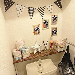 女性30歳の家族暮らし3DK、星モチーフに関するmitsumitsuさんの実例写真