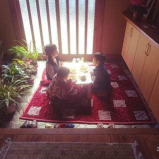 女性38歳の家族暮らし4LDK、男の子3兄弟に関するtomoさんの実例写真
