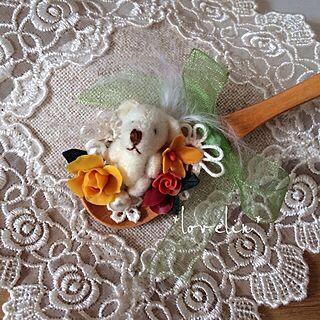 棚/デコスプーン/お嫁に行きました♡/オリジナル/pandaちゃんへ♡/プレゼント...などのインテリア実例 - 2014-02-14 12:52:44
