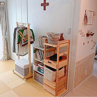 女性37歳の家族暮らし4LDK、パイン家具に関するnaosunnyさんの実例写真