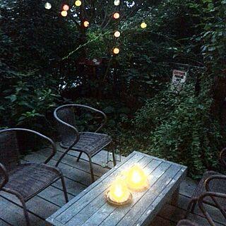机DIY/IKEAソーラーライト/ソーラーライト/庭♪のインテリア実例 - 2014-09-19 17:47:10