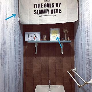 女性家族暮らし2LDK、100均木材DIYに関するricoさんの実例写真