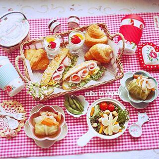 キッチン/キャスキッドソン/ココットフルール/cooking/朝食...などのインテリア実例 - 2015-04-03 07:37:42